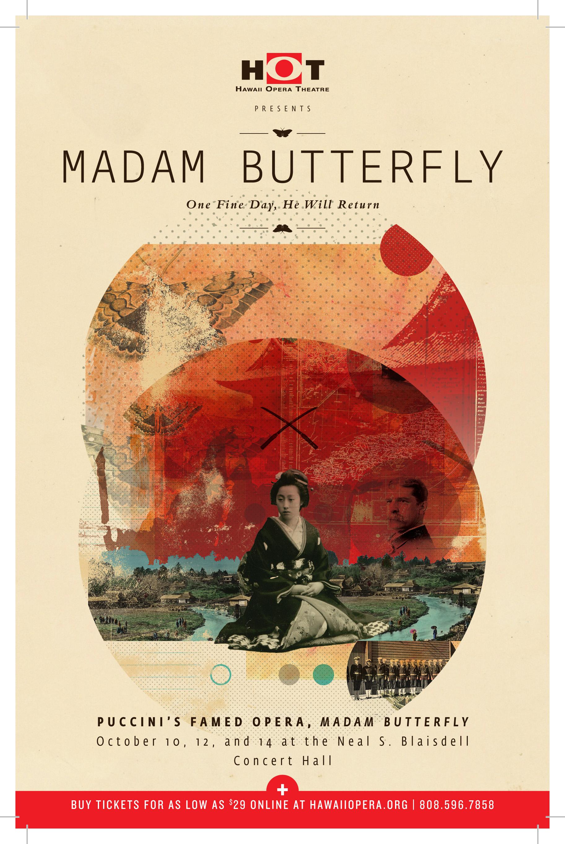 HOT Madam Butterfly Artwork