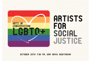 10/20 – Hear Excerpts from As One at Arts in Conversation: LGBTQ+