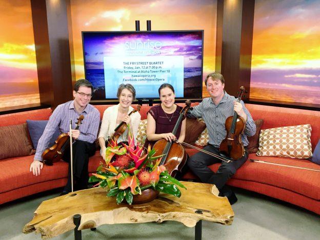 Fry Street Quartet on Hawaii News Now