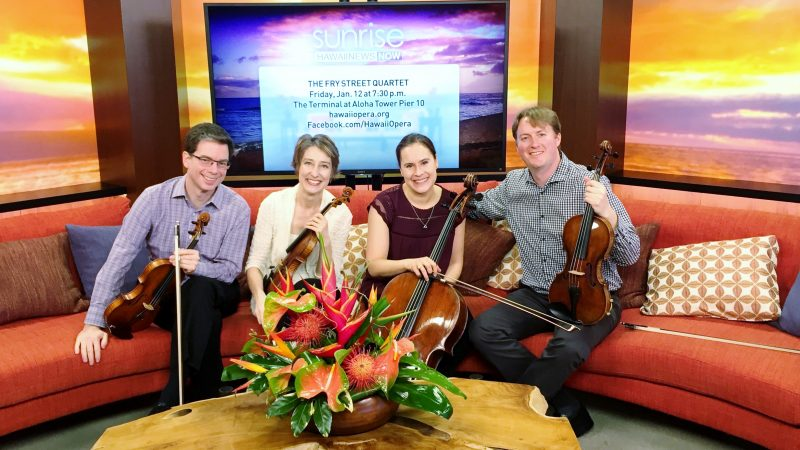 Fry Street Quartet on Hawaii News Now