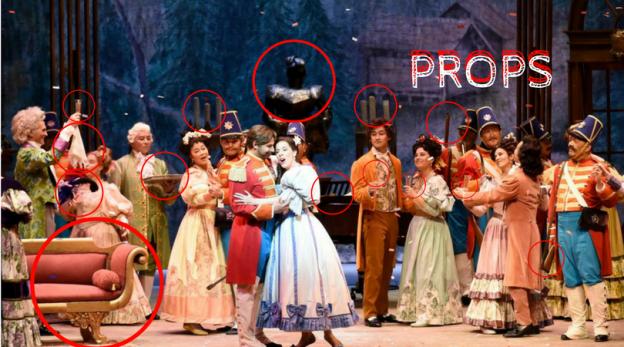 Hawaii Opera Theatre Props